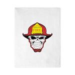 Skull Fireman Twin Duvet