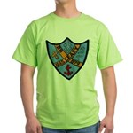 USS LEARY Green T-Shirt