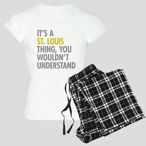Its A St Louis Thing Women's Light Pajamas