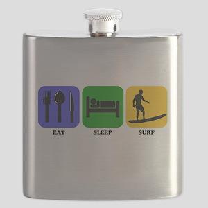 Eat Sleep Surf Flask