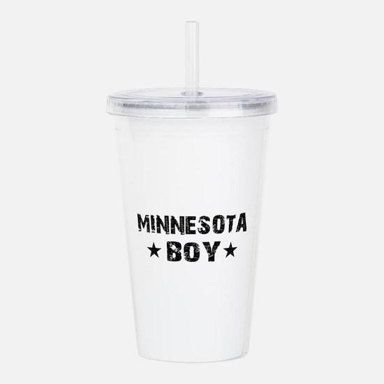 Minnesota Boy Acrylic Double-wall Tumbler