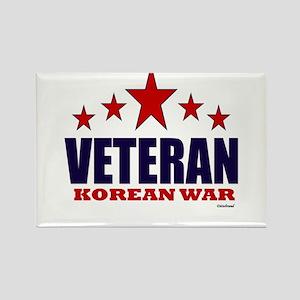 Veteran Korean War Rectangle Magnet