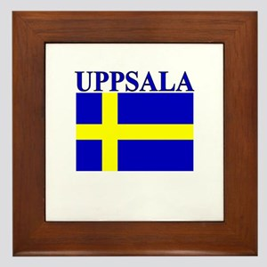 Uppsala, Sweden Framed Tile