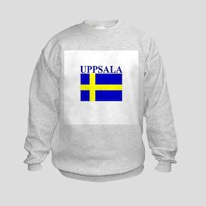 Uppsala, Sweden Kids Sweatshirt