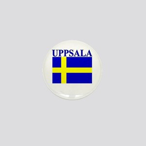 Uppsala, Sweden Mini Button