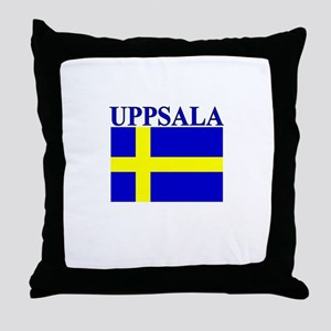 Uppsala, Sweden Throw Pillow