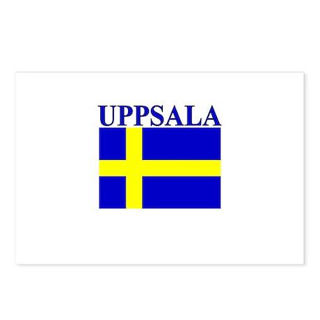 Uppsala, Sweden Postcards (Package of 8)