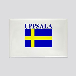 Uppsala, Sweden Rectangle Magnet