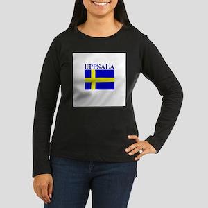 Uppsala, Sweden Women's Long Sleeve Dark T-Shirt