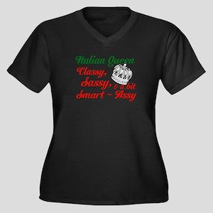 Italian Queen Plus Size T-Shirt