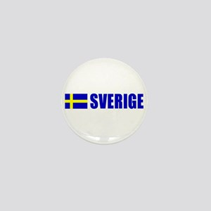 Sverige Flag Mini Button