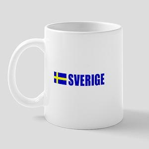 Sverige Flag Mug