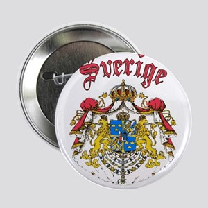 Sverige Coat of Arms Button