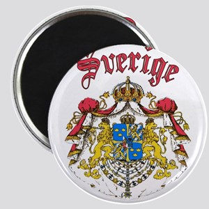 Sverige Coat of Arms Magnet