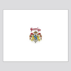 Sverige Coat of Arms Small Poster