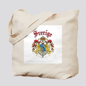 Sverige Coat of Arms Tote Bag