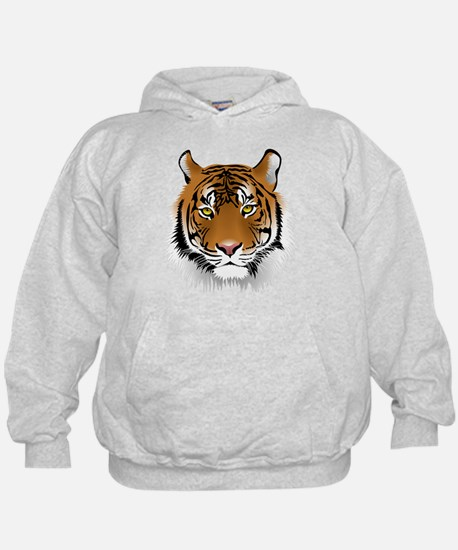 Unique Wild cat illustration Hoodie