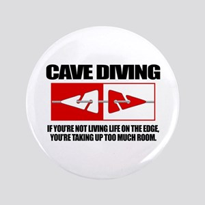 "Cave Diving (LOTE) 3.5"" Button"
