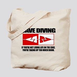 Cave Diving (LOTE) Tote Bag