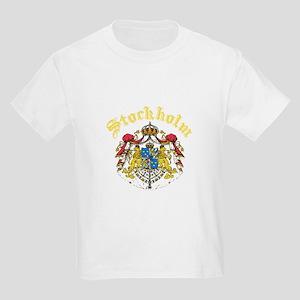 Stockholm, Sweden Kids Light T-Shirt