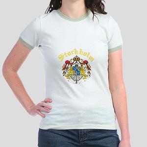 Stockholm, Sweden Jr. Ringer T-Shirt