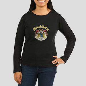 Stockholm, Sweden Women's Long Sleeve Dark T-Shirt