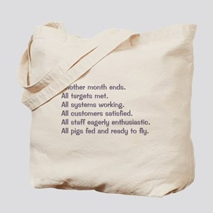 All Targets Met Tote Bag