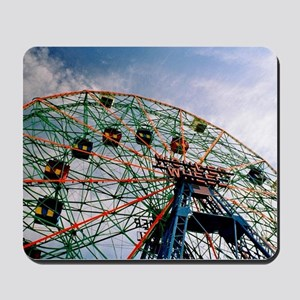 Wonder Wheel On A Sunny Day Mousepad