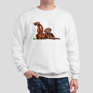 2 Ridgebacks Sweatshirt