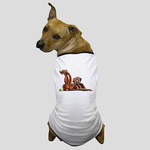 2 Ridgebacks Dog T-Shirt