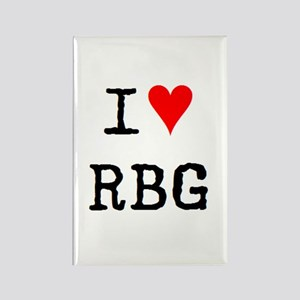 i love rbg Rectangle Magnet