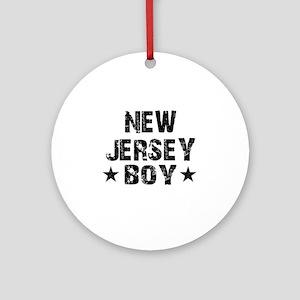 New Jersey Boy Ornament (Round)