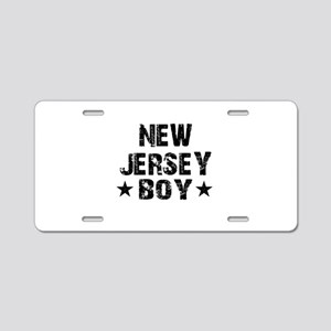 New Jersey Boy Aluminum License Plate