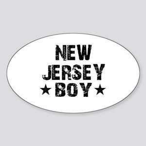 New Jersey Boy Sticker