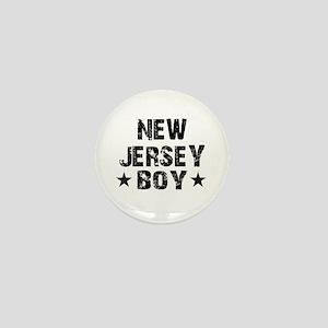 New Jersey Boy Mini Button