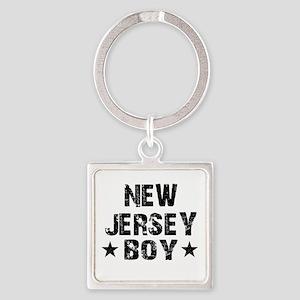 New Jersey Boy Keychains