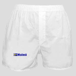 Malmo, Sweden Boxer Shorts
