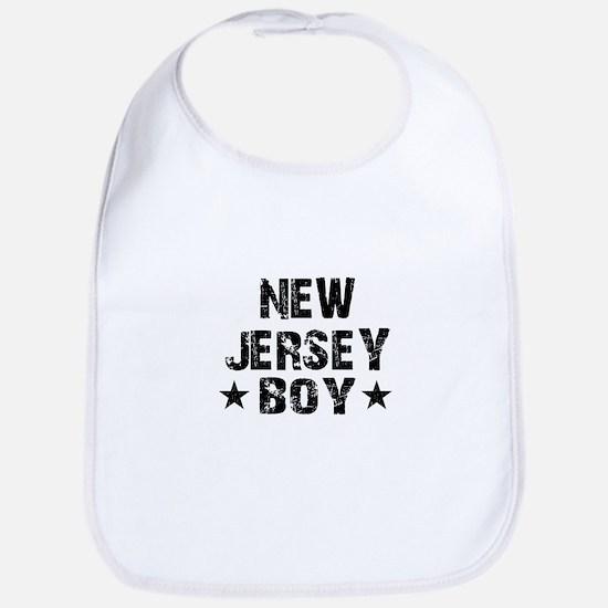New Jersey Boy Bib