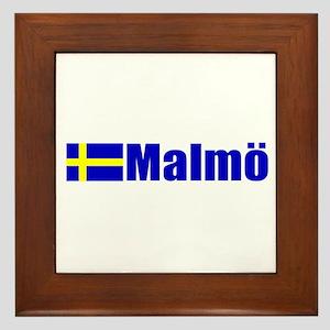 Malmo, Sweden Framed Tile