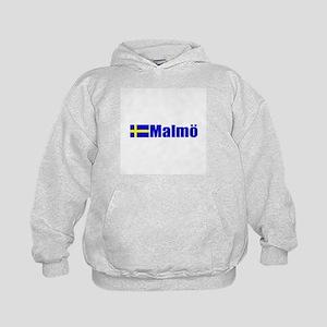 Malmo, Sweden Kids Hoodie