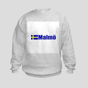 Malmo, Sweden Kids Sweatshirt