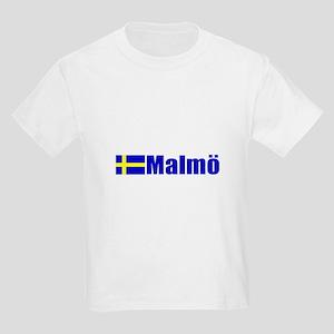 Malmo, Sweden Kids Light T-Shirt