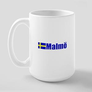 Malmo, Sweden Large Mug