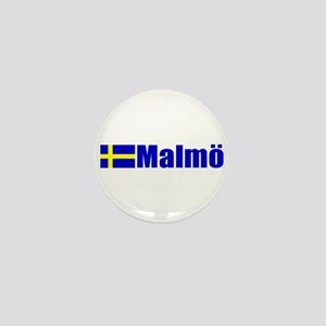 Malmo, Sweden Mini Button