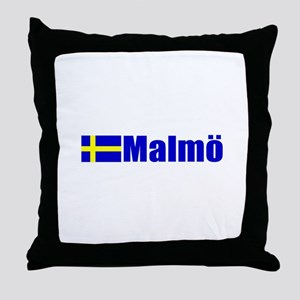 Malmo, Sweden Throw Pillow