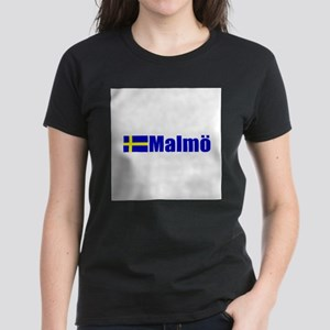 Malmo, Sweden Women's Dark T-Shirt