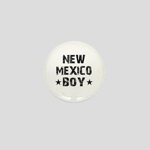 New Mexico Boy Mini Button