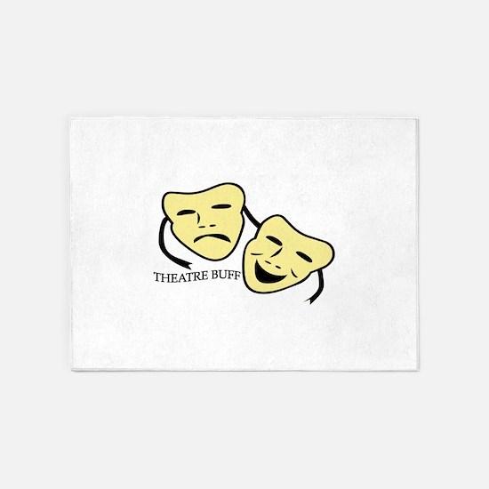 Theatre Buff 5'x7'Area Rug