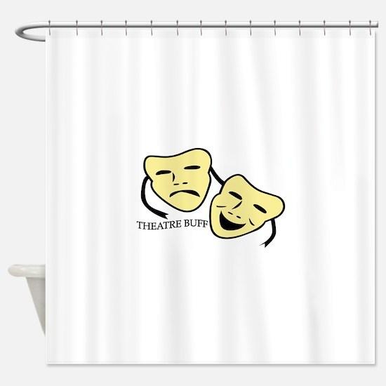 Theatre Buff Shower Curtain