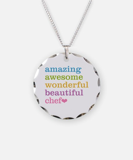 Cute Catering Necklace